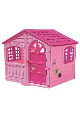 Permanent Playhouses 145995 Little Tikes Princess Cottage Playhouse Pink It Now Only 151 99 On Ebay