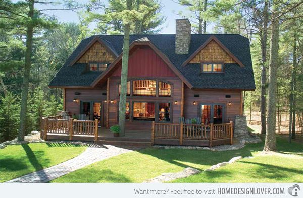 awesome 20 Different Exterior Designs of Country Homes...