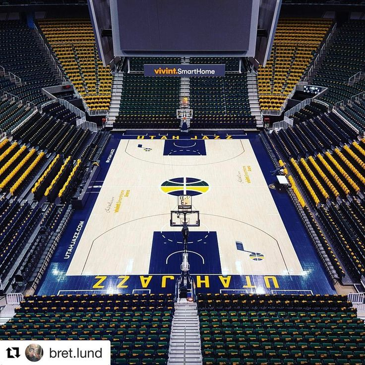 @vivintarena is looking  and ready for tomorrow!