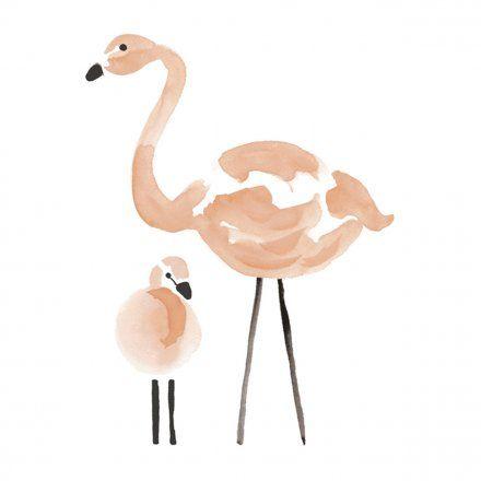 Lillipinso Flamingo sticker Kids Stickers
