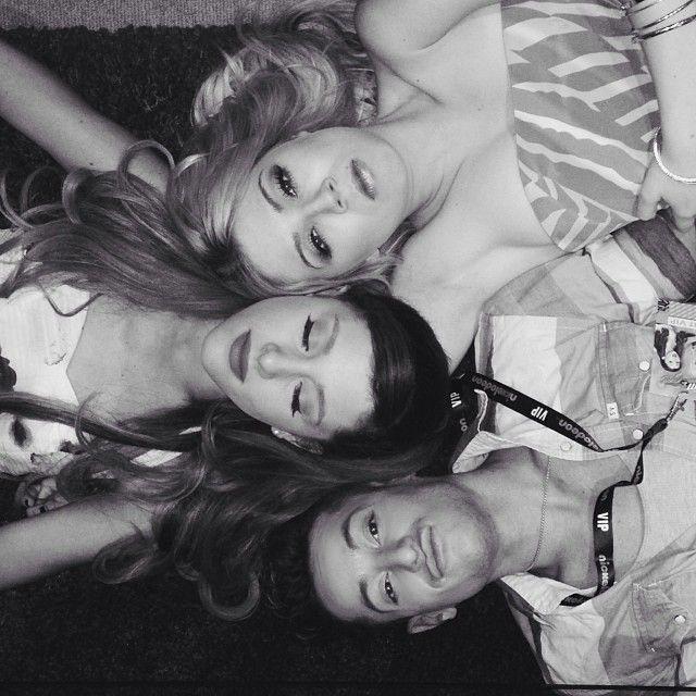 Frankie Grande, Ariana Grande, Jennette McCurdy. Flawless.
