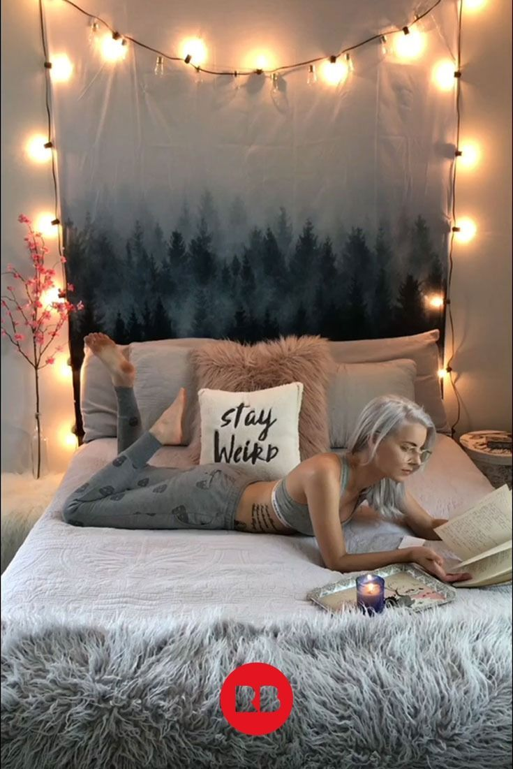 Cozy + Soft Room   Home Decor   Dorm Room Ideas   Wall Tapestries   Woodland Tapestry   Forest   Tree Pattern   Tordis Kayma