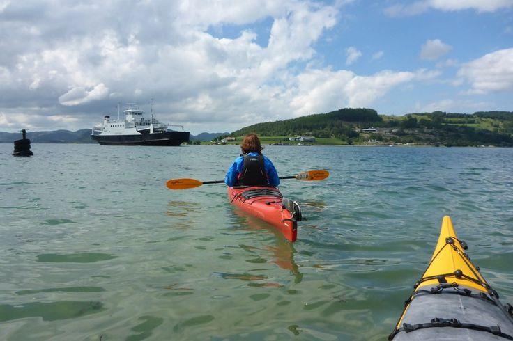 [No] Kajaktour auf dem Lysefjord im Juni 2016
