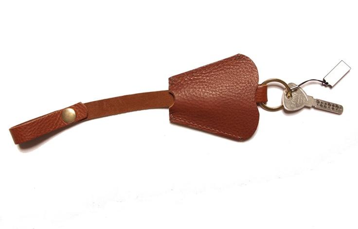 Lovely leather key holder.