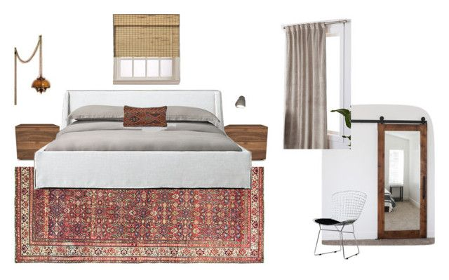 Master Bedroom (revised) by hevelhouse on Polyvore featuring interior, interiors, interior design, home, home decor, interior decorating, Huppé, Arlo Blinds, Lichtenberg and bedroom