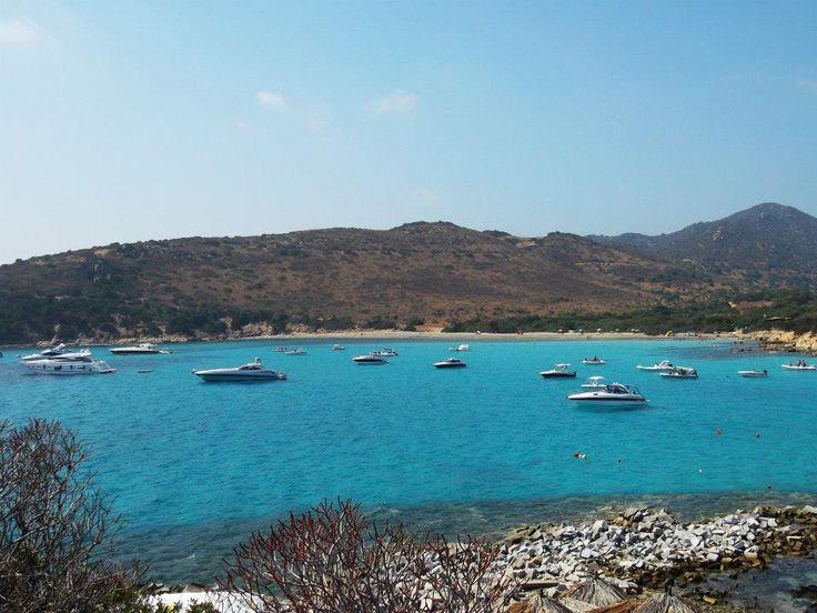 Punta Molentis. <3 I love my beautiful Island <3