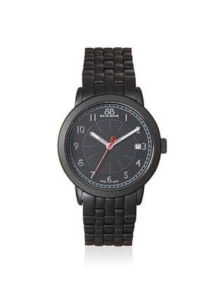 88 RUE DU RHONE Men's 87WA120025 Double 8 Origin Black Stainless Steel Watch