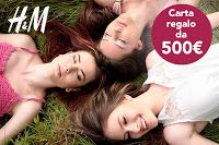 Cucina e Fantasia: Vinci 500 € e fai shopping GRATIS con H&M!