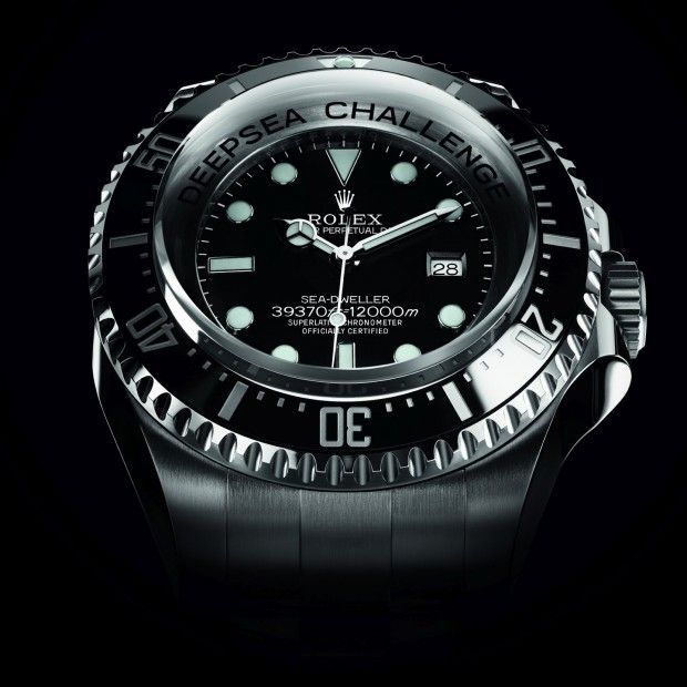 Rolex DEEPSEA Challenge Watch, a watch James Cameron could wear if he could venture outside the Deepsea Challenger. Water resistant:  12,000 meters / 39,370 feet