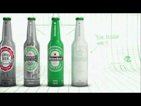 Heineken Contest - Create the new Bottle design
