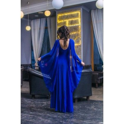 Вечернее платье с шифоновыми вставками   Вечерние и свадебные наряды   Каталог товаров   Moda moll