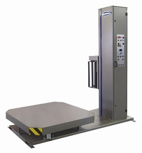 semi automatic stretch wrap machine