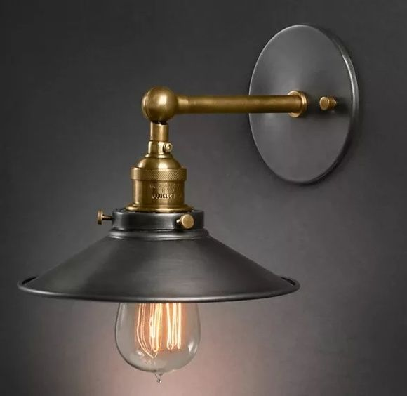 Arandela Luminaria Industrial Vintage