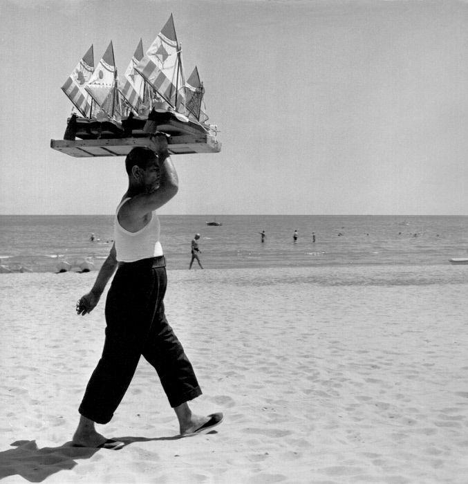 Vacanze italiane, Venezia anni cinquanta  ©Mondadori Portfolio/Mario de Biasi