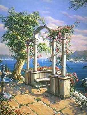 'Rose Pillars' ~ Bob Pejman