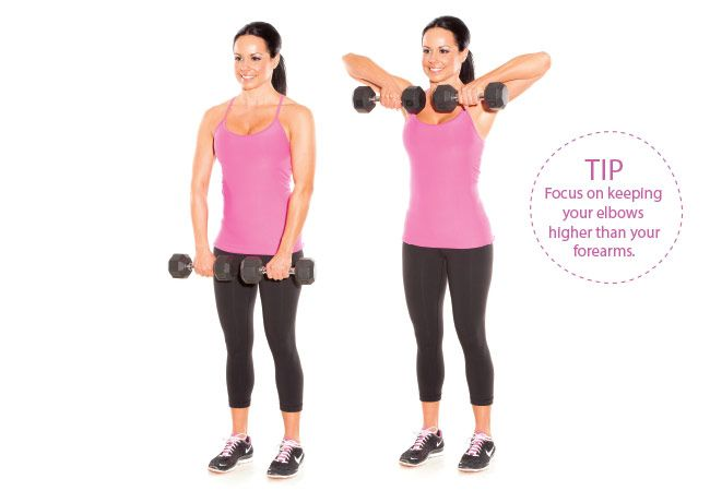 5 Dumbbell Moves to Sexy Summer Arms