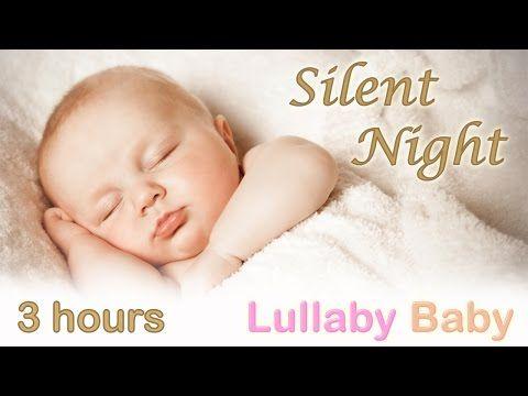 ☆ 3 HOURS ☆ SILENT NIGHT ♫ PIANO + GUITAR ~ Baby Bedtime Sleeping Music ~ Best Lullaby Sleep Songs - YouTube