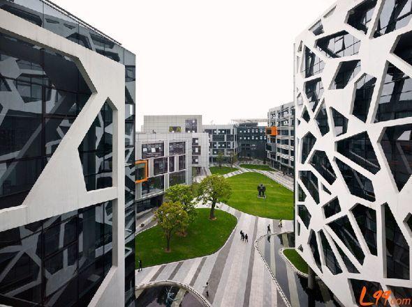 阿里巴巴总部的未来,来自澳大利亚国际建筑事务所 HASSEL studio