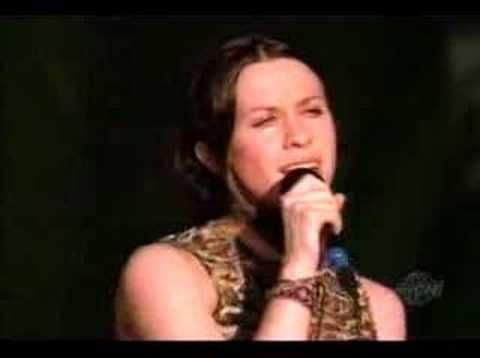 """""""You Oughta Know"""" - Alanis Morissette at Woodstock '99.  Best Alanis song ever!  """"Every time I scratch my nails down someone else's back, I hope you feel it!  Well, can you feel it!?!?!"""""""