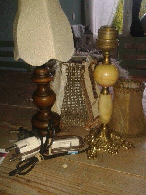 Oude afgedankte lampjes