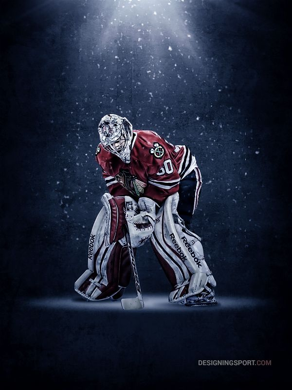 Corey Crawford, Chicago Blackhawks please follow me,thank you i will refollow you later