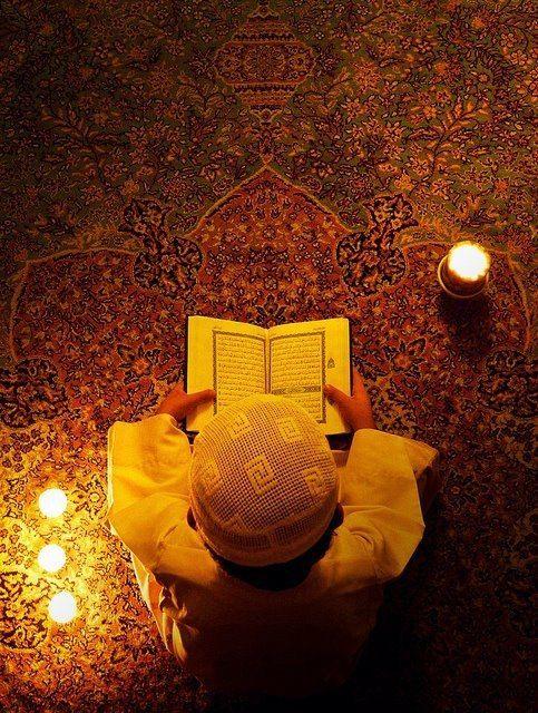 İçinde Kur'an okunan ev, Gök Ehline, Yerden yıldız gözüktüğü gibi görünür. Hz. Aişe (r.a)