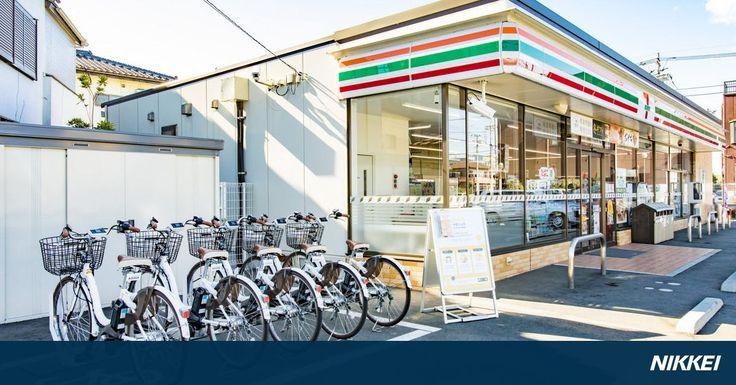 セブン―イレブン・ジャパンはソフトバンクと組み、コンビニエンスストアをシェア自転車の貸し出しや返却の拠点にする。月内にさいたま市内の9店で始め、エリアを順次拡大する。