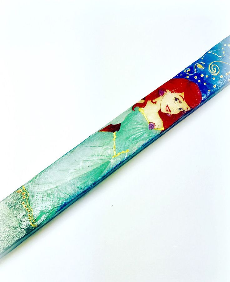 Ariel easter candle,lambada Disney A personal favorite from my Etsy shop https://www.etsy.com/ca/listing/505282562/ariel-greek-easter-candle-greek-easter
