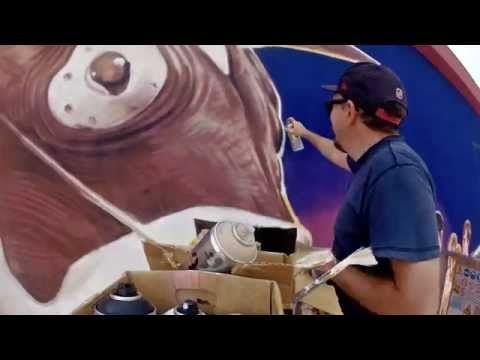 "Ozmo - ""Minotauro"" New Mural in Chivasso — GORGO Magazine"