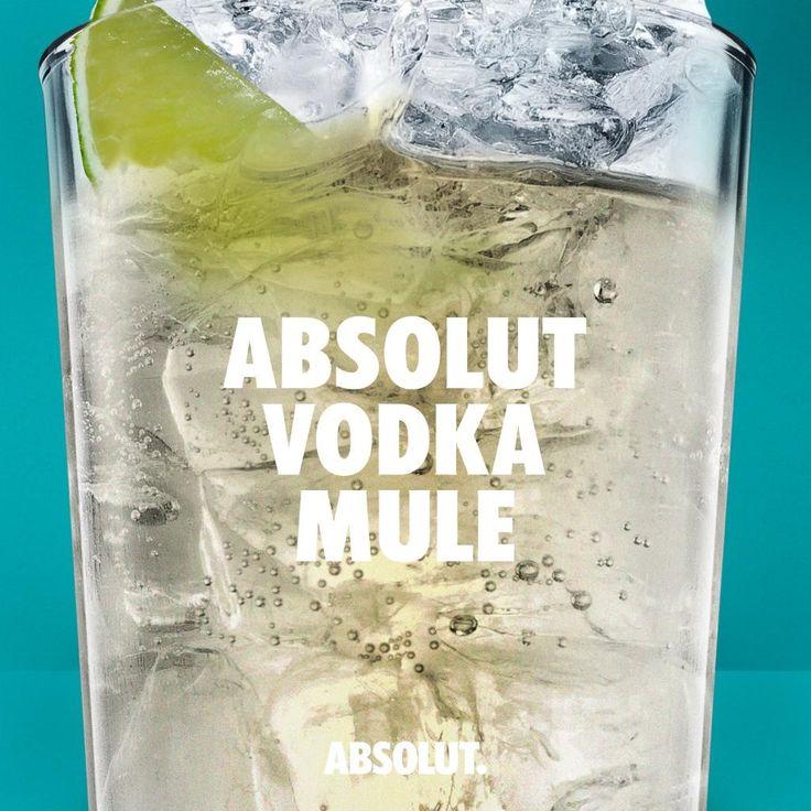 Absolut Vodka Mule