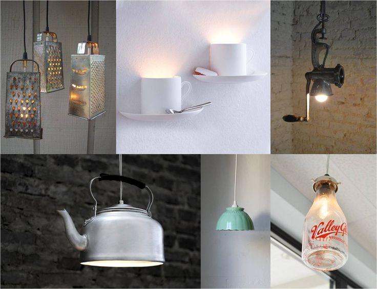 Fa-ti singur lampa de bucatarie!