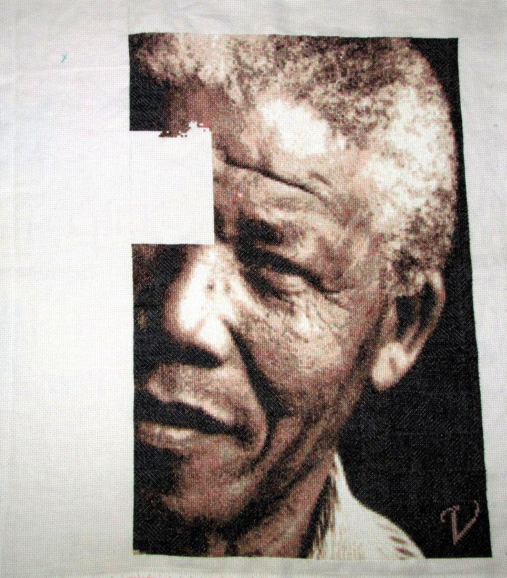 20- Ya casi esta listo... falta un poco mas todavia pero la emocion es enorme... #TrabajoCostante #Madiba ♥ #Respect