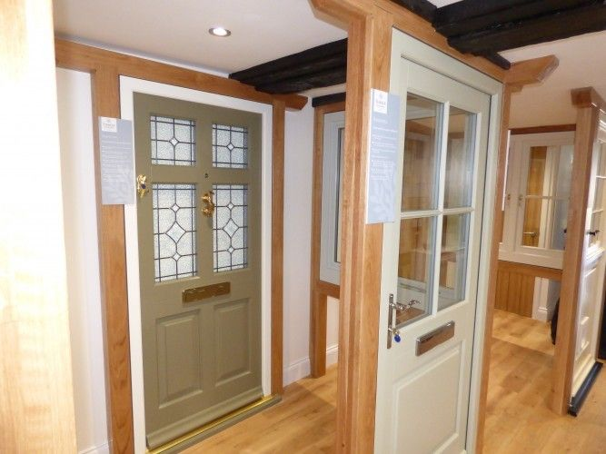 Timber Windows of Olney showroom.