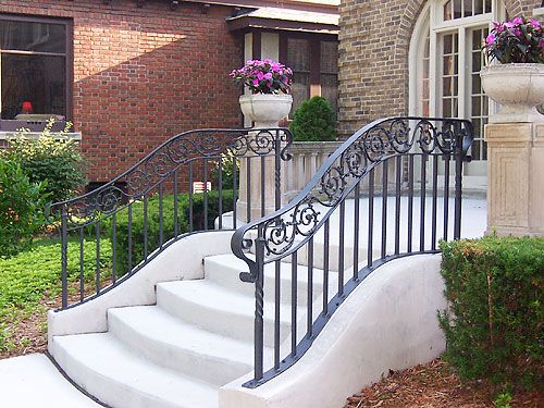 Outdoor Hand Railings Outdoor Handrailings In 2019