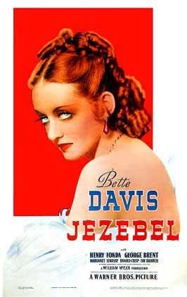 Scarlett O'Hara, eat your heart out. Bette Davis was the original queen of mean who tried to redeem herself in Jezebel. I love Gone With the Wind, but this movie came earlier and really tugged at my heart strings.
