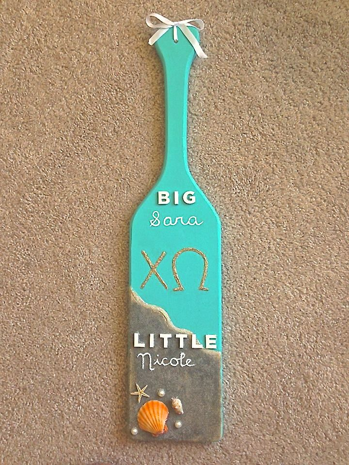Big/Little Paddle!