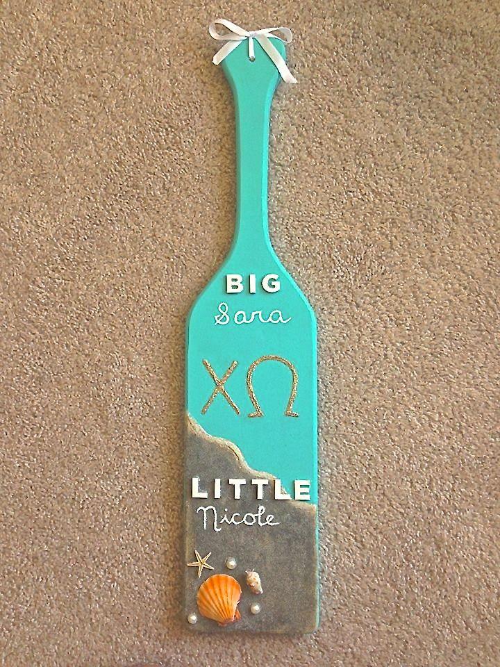 Big/Little Paddle!