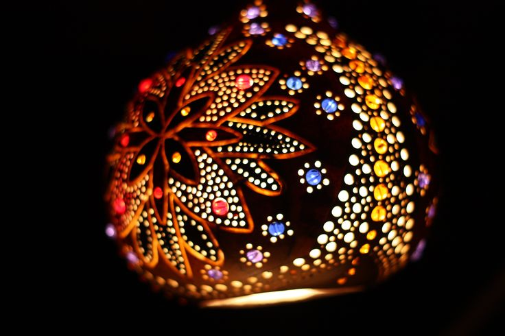 A bit of gourd and light.