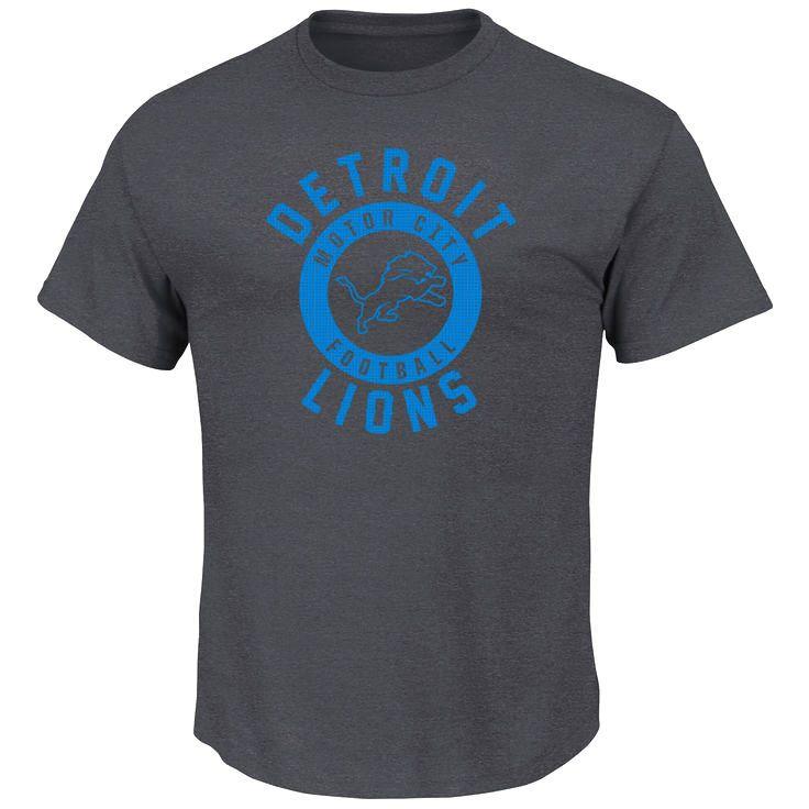 Detroit Lions Majestic Keep Score T-Shirt - Charcoal - $23.99