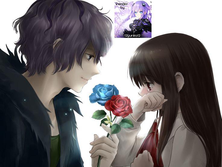 girl anime and boy ani...