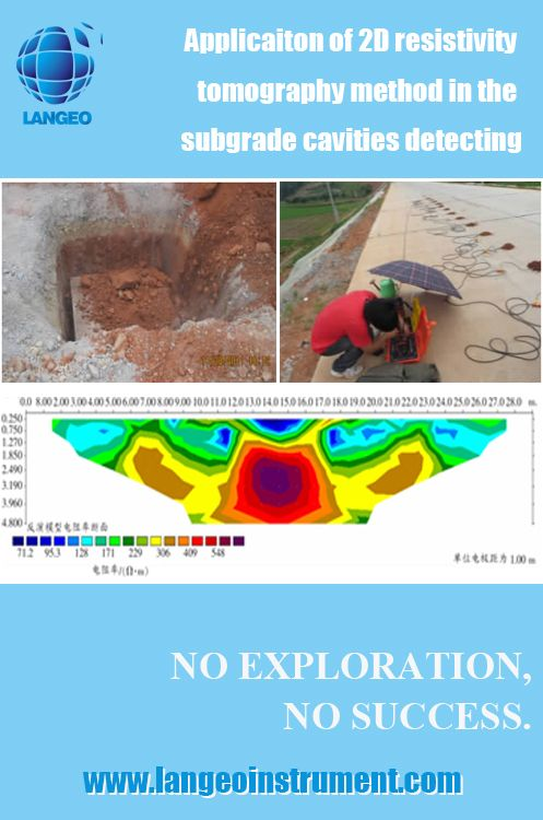 LANGEO: Applicaiton of WGMD-9 2D/3D resistivity tomography system in the subgrade cavities detecting - www.langeoinstrument.com