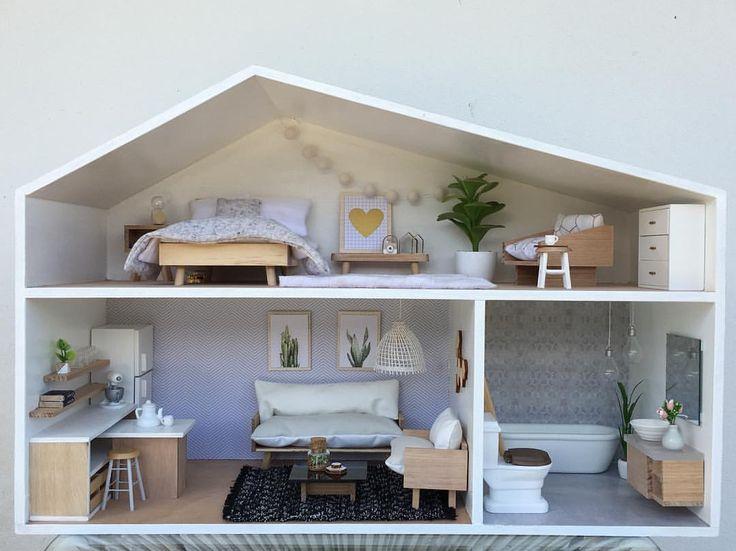 See this Instagram photo by  juliavalka mini modern designs   54 likes    Miniature FurnitureDollhouse. 896 best Dollhouse images on Pinterest   Dollhouses  Miniatures