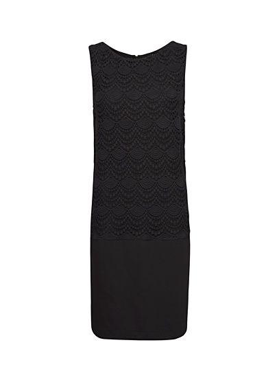 MANGO - Front lace dress