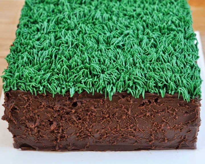 Beki Cook's Cake Blog: Easy Minecraft Birthday Cake