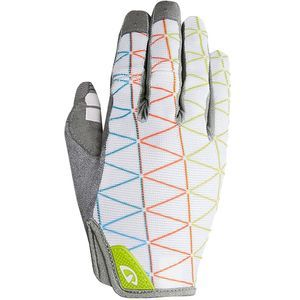 women's bike gloves from Giro - size small long with pads