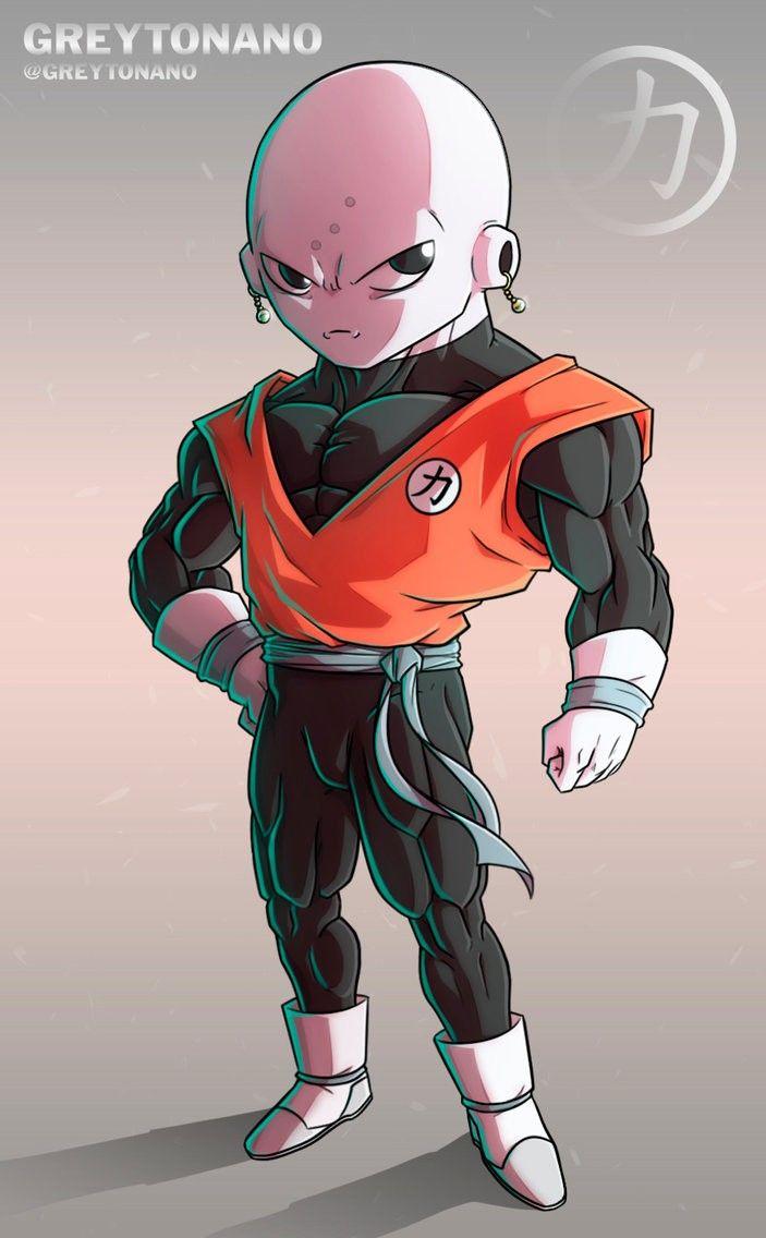 Jiren Y Krilin Fusion Personnages De Dragon Ball Personnages Dragon