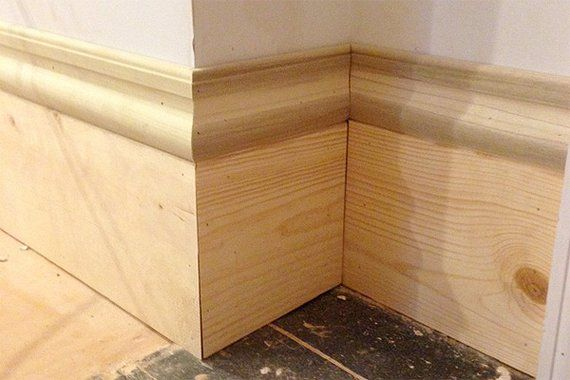 19 best images about molding on pinterest baseboards for Cost to paint baseboard