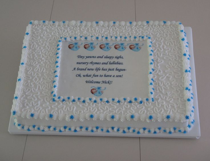 Baby Shower Sheet Cake Ideas |