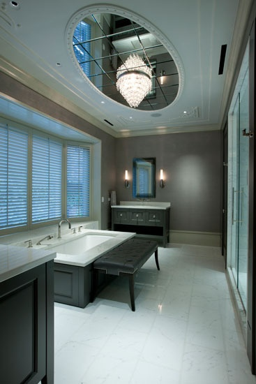 This is a cool bathroom. I would so want something like this in my house.