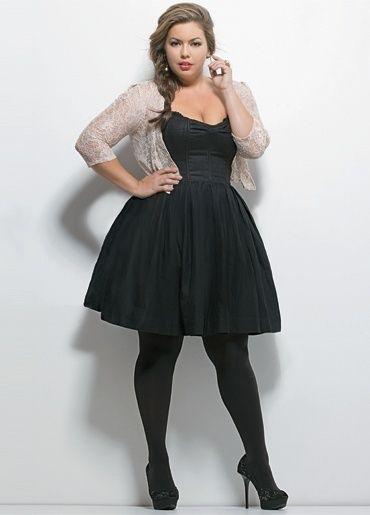 Cute plus size little Black Dress